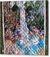 Santa Amelia Waterfall Quilt Acrylic Print by Sarah Hornsby