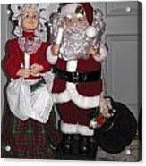Santa Couple Acrylic Print