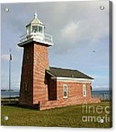 Santa Cruz Lighthouse Acrylic Print
