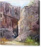 Santa Elena Canyon Big Bend Acrylic Print