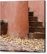 Santa Fe Adobe Acrylic Print by Denice Breaux