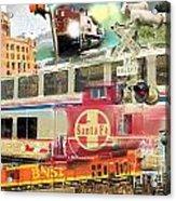Santa Fe Acrylic Print
