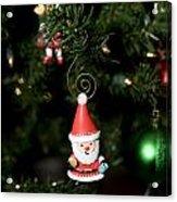 Santa Is Watching Acrylic Print