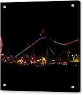 Santa Monica Pier II Acrylic Print