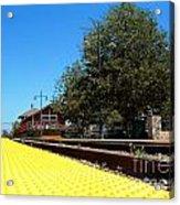 Santa Paula Train Station Acrylic Print