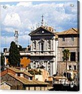 Santi Domenico E Sisto Acrylic Print