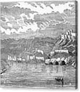 Santiago De Cuba, 1853 Acrylic Print