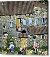 Santons. Provence Acrylic Print