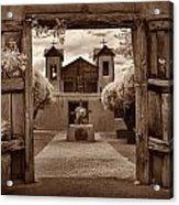 Santuario De Chimaya Acrylic Print