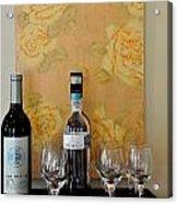 Sara Beth's Wine Rack Acrylic Print