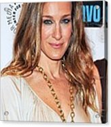 Sarah Jessica Parker At Arrivals Acrylic Print by Everett