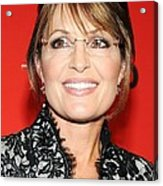 Sarah Palin At Arrivals For Time 100 Acrylic Print by Everett