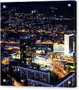 Sarajevo By Night Acrylic Print