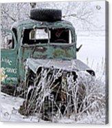 Saranac Cities Service Truck Acrylic Print
