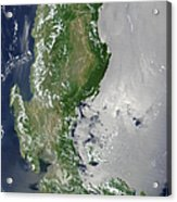 Satellite Image Of The Northern Acrylic Print
