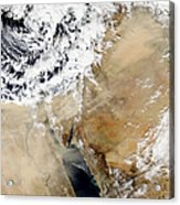 Satellite View Of The Eastern Acrylic Print