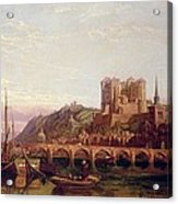 Saumur -  By The Loire Valley  Acrylic Print