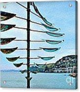 Sausalito Coast Acrylic Print