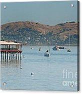 Sausalito Harbour Acrylic Print