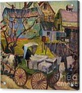 Savannah Landscape Acrylic Print