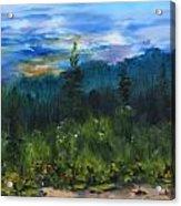 Sawbill Overlook Sunset Acrylic Print