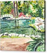 Sayen Pond Acrylic Print
