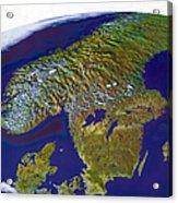 Scandinavia Acrylic Print