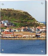 Scarborough Panorama Acrylic Print by Jane Rix