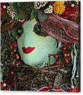 Scarecrow Bounty Acrylic Print