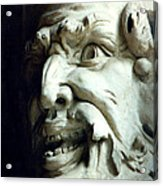 Scary Face Acrylic Print