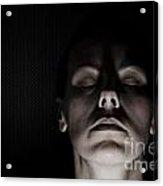 Scary Woman Acrylic Print