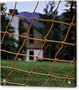 Scene Through A Volley Ball Court 2 Acrylic Print