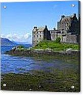 Scenic Castle Acrylic Print