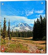 Scenic Mt. Hood In Oregon Acrylic Print