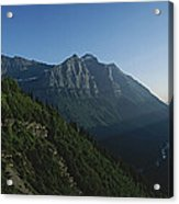 Scenic Overlook In Glacier National Acrylic Print