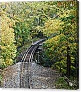 Scenic Railway Tracks Acrylic Print
