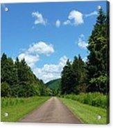 Scenic Road Acrylic Print