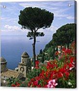 Scenic View Of Villa Rufolo Terrace Acrylic Print