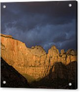 Scenic View Of Zion National Park Acrylic Print