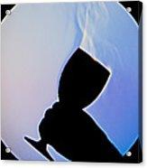 Schlieren Image Of Wine Vapors Acrylic Print