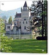 Schloss Anif Acrylic Print