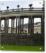 Schloss Sanssouci Gardens Acrylic Print