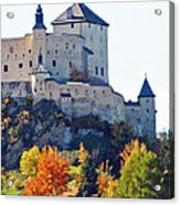 Schloss Tarasp Switzerland Acrylic Print