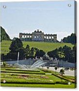 Schonbrunn Palace Gardens  Acrylic Print