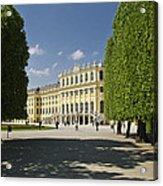 Schonbrunn Palace Vienna Austria Acrylic Print