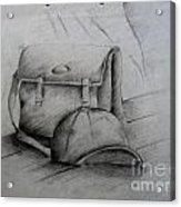 Still Life Study Drawing Practice Acrylic Print by Tanmay Singh