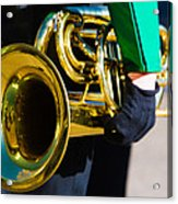 School Band Horn Acrylic Print