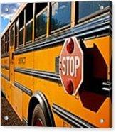 School Bus Acrylic Print