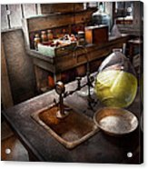Science - Chemist - Scientific Discoveries  Acrylic Print by Mike Savad