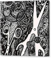 scissorS Acrylic Print